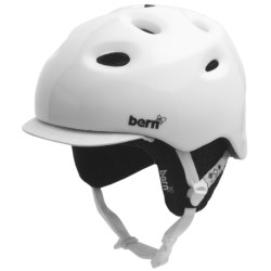Bern Cougar 2  Multi-Sport Helmet - Zip Mold®, Removable Winter Liner (For Women) in Gloss White