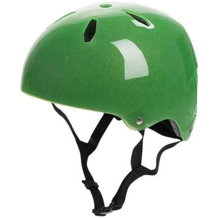 Bern Diablo Skate Helmet (For Big Kids) in Translucent Green - Closeouts