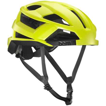 Bern FL-1 Pave MIPS Bike Helmet (For Men) in Neon Yellow - Closeouts