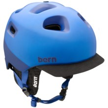 Bern G2 Multi-Sport Helmet - Zip Mold®, Removable Knit Liner in Matte Cobalt 2Tone W/Black Knit - Closeouts