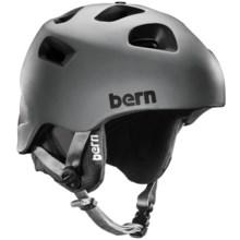 Bern G2 Multi-Sport Helmet - Zip Mold®, Removable Knit Liner in Matte Grey - Closeouts