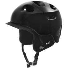 Bern G2 Multi-Sport Helmet - Zip Mold®, Removable Winter Liner in Gloss Black - Closeouts