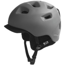Bern G2 Multi-Sport Helmet - Zip Mold®, Removable Winter Liner in Matte Grey/Black Knit - Closeouts