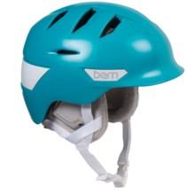 Bern Hepburn Ski Helmet (For Women) in Satin Teal - Closeouts