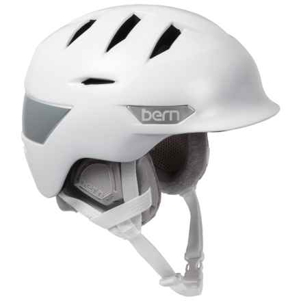 Bern Hepburn Ski Helmet (For Women) in Satin White - Closeouts