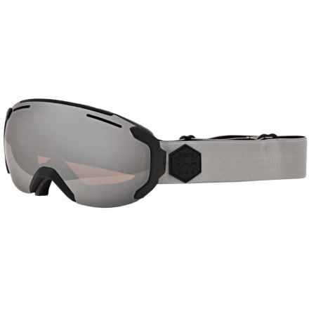 Bern Jackson Ski Goggles in Grey/Black/Orange Light Mirror - Closeouts