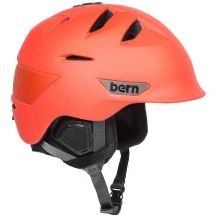 Bern Kingston Ski Helmet in Matte Orange - Closeouts