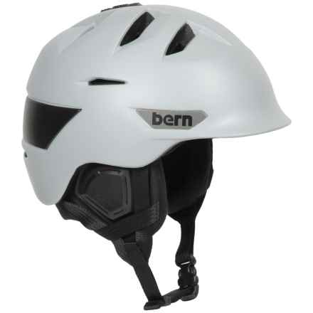 Bern Kingston Ski Helmet in Satin Light Grey - Closeouts