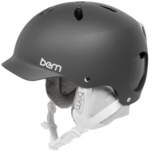 Bern Lenox EPS Multi-Sport Helmet - Removable Winter Liner (For Women) in Matte Grey/White - Closeouts