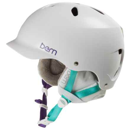 Bern Lenox EPS Ski Helmet (For Women) in Satin White - Closeouts