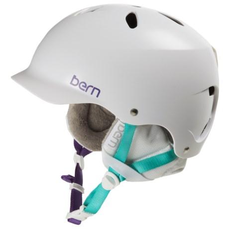 Bern Lenox EPS Ski Helmet (For Women) in Satin White
