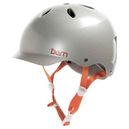 Bern Lenox Multi-Sport Helmet (For Women) in Satin Delphin Grey - Closeouts