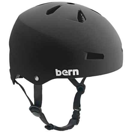 Bern Macon Bike Helmet in Matte Black - Closeouts