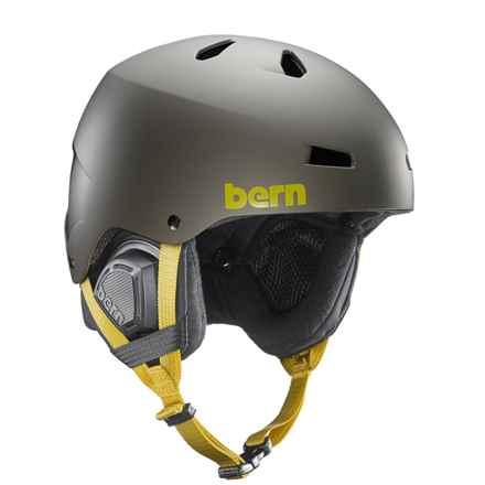 Bern Macon Bike Helmet in Matte Charcoal Grey - Closeouts