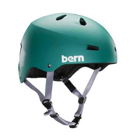 Bern Macon Bike Helmet in Matte Green - Closeouts