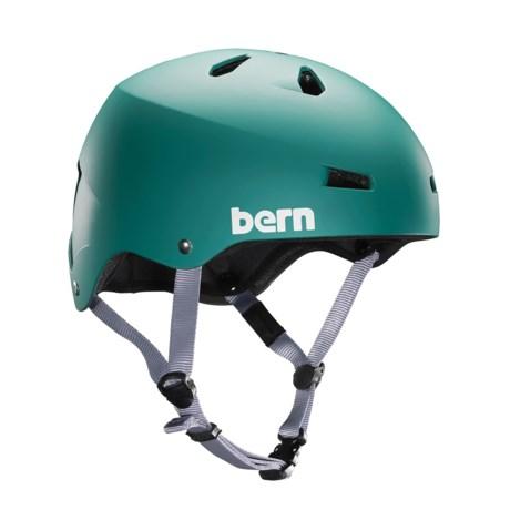 Bern Macon Cycling Helmet in Matte Green