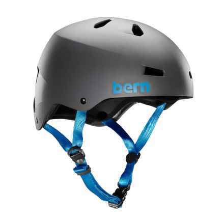 Bern Macon Cycling Helmet in Matte Grey - Closeouts