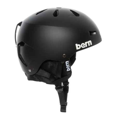 5b41955ef2 Bern Macon EPS Ski Helmet in Matte Black - Closeouts