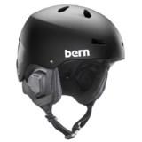 Bern Macon Ski Helmet - 8tracks® Audio, Winter Liner