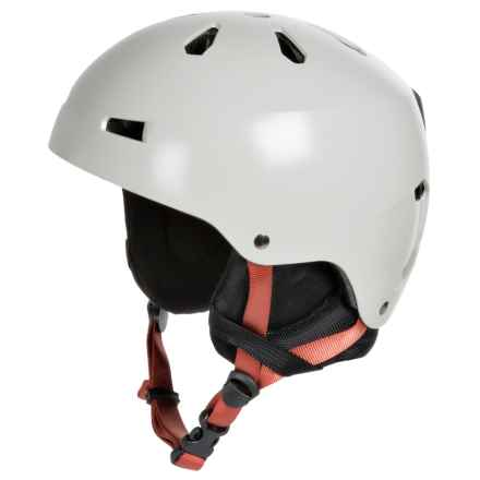 Bern Macon Ski Helmet (For Men) in Satin Light Grey - Closeouts
