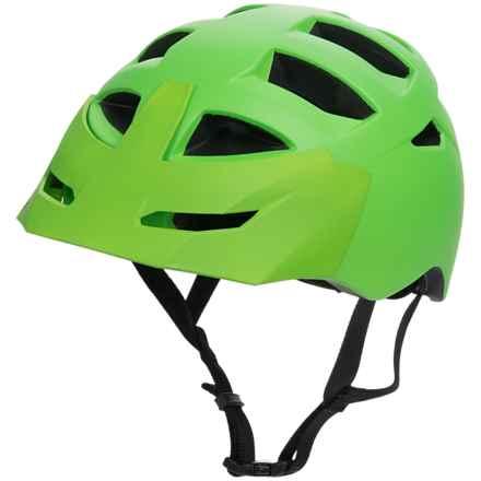 Bern Morrison Bike Helmet (For Men) in Matte Neon Green - Closeouts
