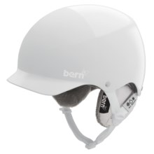 Bern Muse EPS Multi-Sport Helmet - Cordova Liner (For Women) in All White Everything/Black Knit - Closeouts
