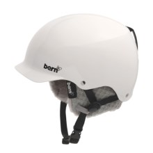 Bern Muse Multi-Sport Helmet - Removable Winter Liner (For Women) in Gloss White/Grey Knit - Closeouts