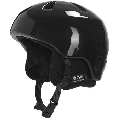 Bern Nino Multi-Sport Helmet - Removable Liner (For Boys) in Gloss Black/Black