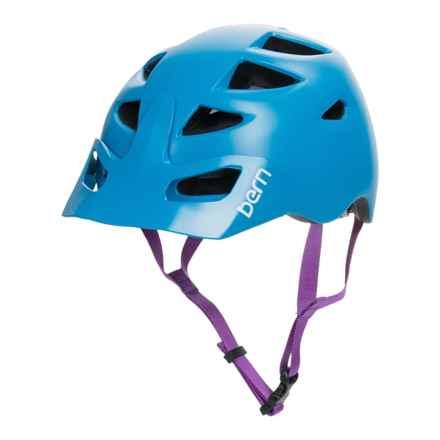 Bern Prescott Bike Helmet (For Women) in Satin Blue - Closeouts