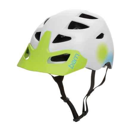 Bern Prescott Bike Helmet (For Women) in Satin White - Closeouts
