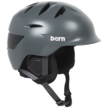 Bern Rollins Ski Helmet (For Men) in Satin Grey - Closeouts