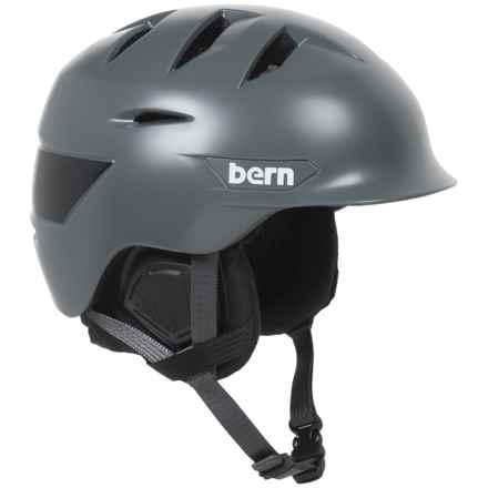 Bern Rollins Ski Helmet (For Men) in Satin Grey - Closeouts