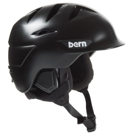 Image of Bern Rollins Zip Mold(R) Ski Helmet - Slider Vents