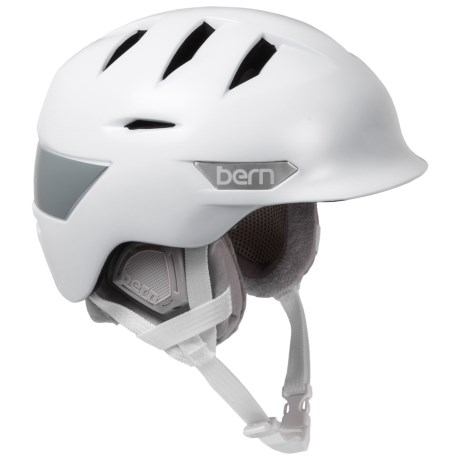 Bern Ski Helmet (For Women) in Satin White