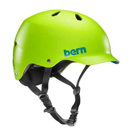 Bern Watts Cycling Helmet in Matte Neon Green - Closeouts