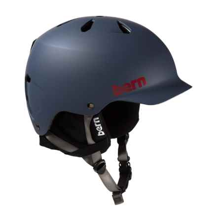 Bern Watts EPS Ski Helmet in Matte Navy Blue - Closeouts