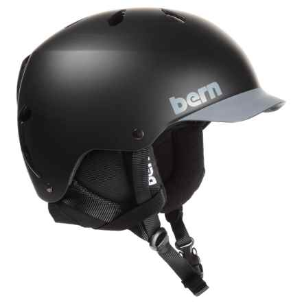 Bern Watts Multi-Sport Helmet in Matte Black/Grey - Closeouts