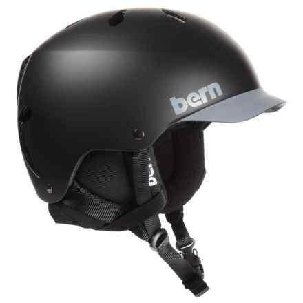 Bern Watts Multi-Sport Helmet in Matte Black/Grey - Closeouts