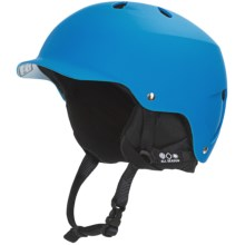 Bern Watts Multi-Sport Helmet - Removable Liner in Matte Cyan/Black - Closeouts