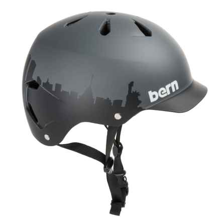 Bern Watts Thin Shell Summer EPS Bicycle Helmet (For Men) in Black - Closeouts