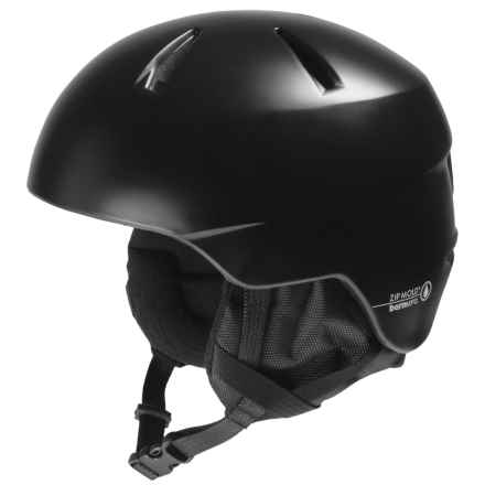 Bern Weston Ski Helmet in Satin Black - Closeouts