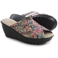 bernie mev. Lori Wedge Sandals (For Women) in Jewels - Closeouts