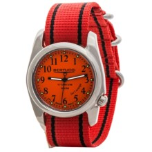 Bertucci A-2T High-Polish Titanium Watch (For Men and Women) in Orange/Orange - Closeouts