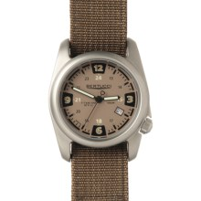 Bertucci A-2T Quad Titanium Watch - Nylon Band in Sahara Khaki/Black - Closeouts