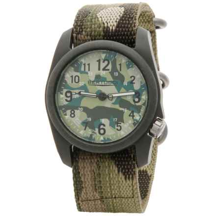 Bertucci Commando Camo Analog Watch - 40mm, Nano Nylon Strap in Commando Camo/Multicam - Closeouts
