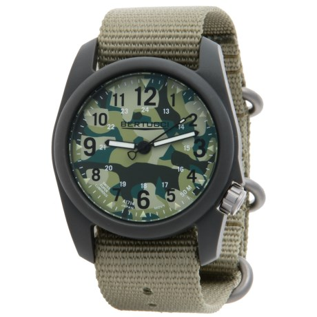 Bertucci Commando Camo Analog Watch - 40mm, Nylon Strap