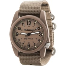 Bertucci DX3 Field Watch (For Men and Women) in Khaki/Khaki - Closeouts