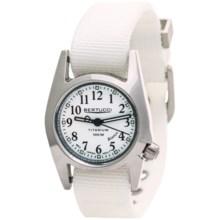 Bertucci M1-T ProColor Titanium Watch - DX3® Nylon Strap (For Women) in White/White - Closeouts