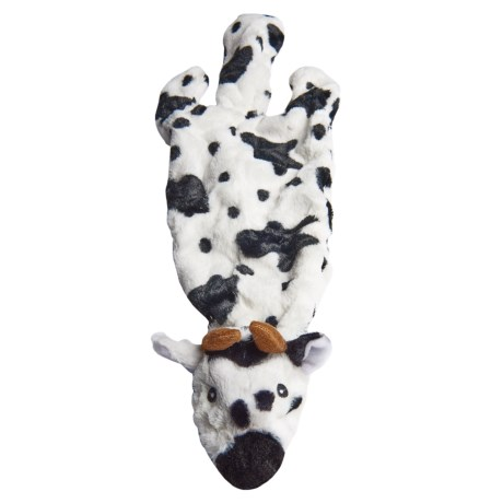 Best Pet 2-in-1 Fun Skin Dog Toy - Stuffing-Free- Large in Cow