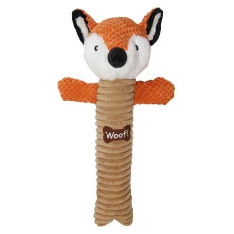 Best Pet Animal Log Dog Toy in Fox